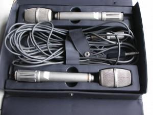 SONY ECM-2270 エレクトリックコンデンサーマイク ステレオペア【中古】